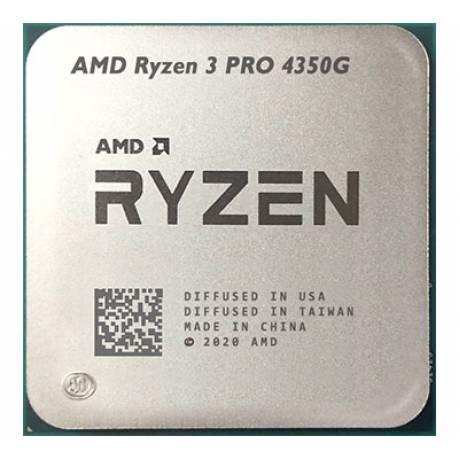 AMD RYZEN 3 PRO - 4350G TRAY